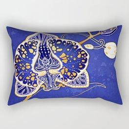 Egyptian Blue :: Orchid Rectangular Pillow