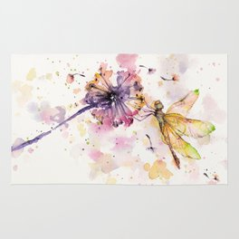 Dragonfly & Dandelion Dance Rug