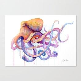 Octopus II Canvas Print
