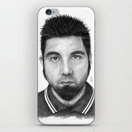 Chino Moreno Portrait iPhone Skin