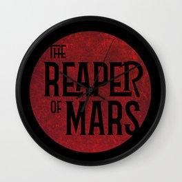 The Reaper of Mars Wall Clock