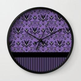 999 Happy Haunts - Servants Wall Clock