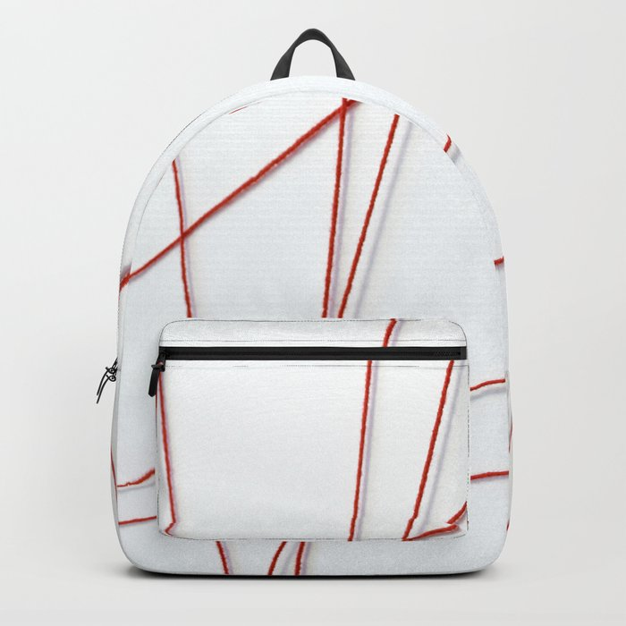 Red String Bracelet Backpack