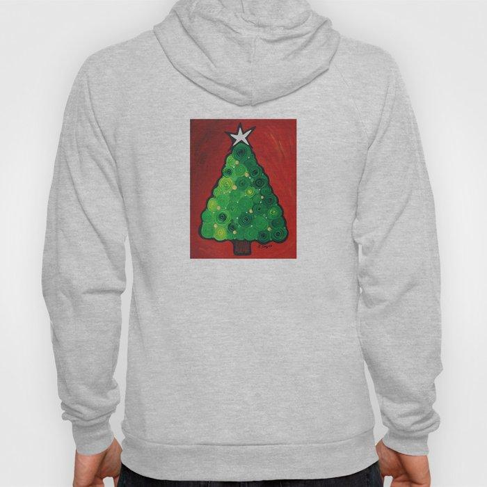 Oh Christmas Tree - Magical Christmas tree by Labor of Love artist Sharon Cummings Hoody