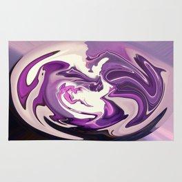 Purple Prose Rug