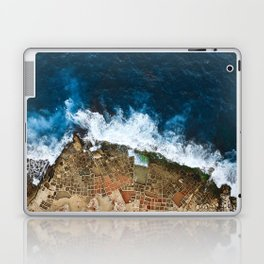 An aerial shot of the Salt Pans in Marsaskala Malta Laptop & iPad Skin
