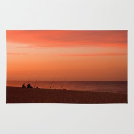 Evening Fishermen Rug