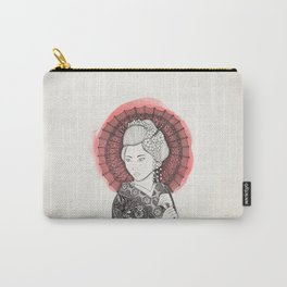 Japanese flag and Geisha Carry-All Pouch