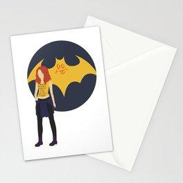 Batgirl Minimal Stationery Cards