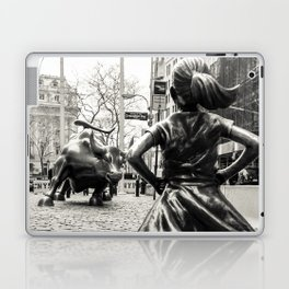 Fearless Girl & Bull - NYC Laptop & iPad Skin