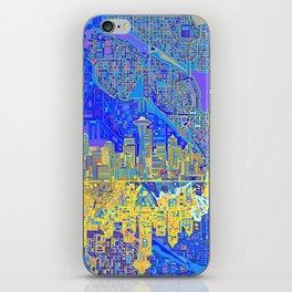 seattle city skyline iPhone Skin