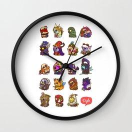 Puglie LoL Vol.3 Wall Clock