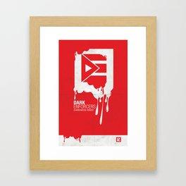 DE Poster #4 Framed Art Print