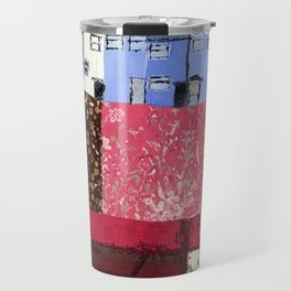 Houses in a Patch Travel Mug