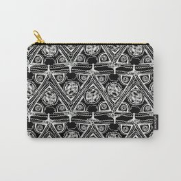 Life Pattern Carry-All Pouch