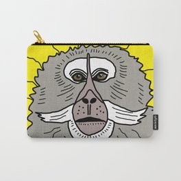 Dreaming of a better place: Marcel the monkey Carry-All Pouch