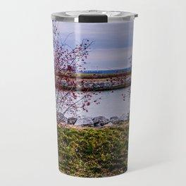 Winter Red Travel Mug