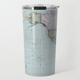 1914 Japanese World Map Travel Mug