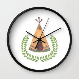 Tipi Wall Clock