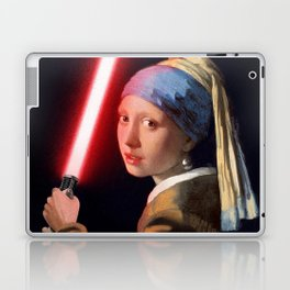 The Girl with the Lightsaber Laptop & iPad Skin