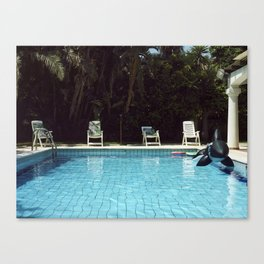 Pool #1 Canvas Print