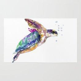 Hawaiian Sea Turtle Rug