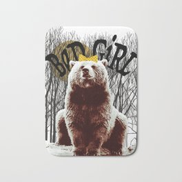 Bad Girl Bear Bath Mat
