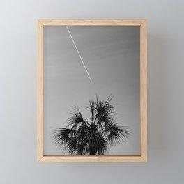 Travel is Live Framed Mini Art Print