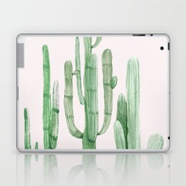 Three Amigos Pink + Green Laptop & iPad Skin