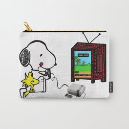 Game on Snoopy Carry-All Pouch