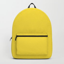 Butter Yellow - Solid Color Collection Backpack