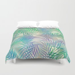 Palm Leaf Pattern Duvet Cover