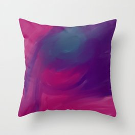Beauty lies on the eyes of the beholder Throw Pillow