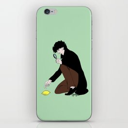 Guess Who Found the Lemon?! iPhone Skin