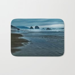 Seascape in Blue Bath Mat