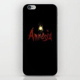 Amnesia iPhone Skin