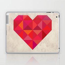 Heart geometry Laptop & iPad Skin
