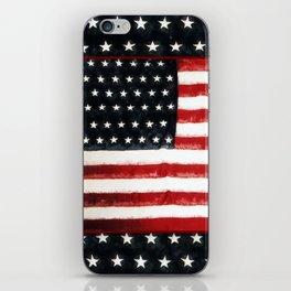 USA Flag ~ American Flag ~ Ginkelmier Inspired iPhone Skin