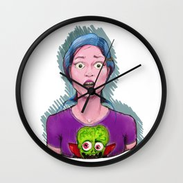 Fotomaton Wall Clock