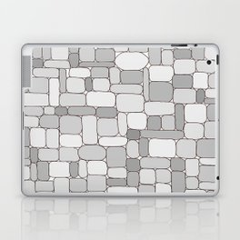 Stone Wall #4 - Grays Laptop & iPad Skin