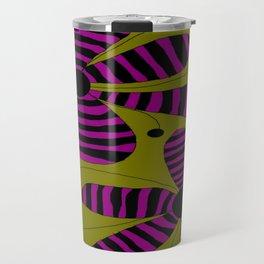 FLOWERY HILDA  / ORIGINAL DANISH DESIGN bykazandholly Travel Mug