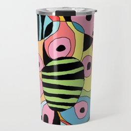 DOODLE DESIGNS / ORIGINAL DANISH DESIGN bykazandholly  Travel Mug