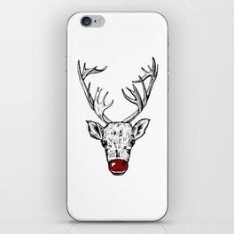 Chritsmas Reindeer iPhone Skin