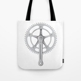 Campagnolo Track Chainset, 1974 Tote Bag
