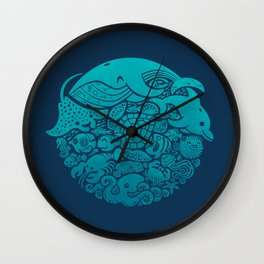 Aquatic Spectrum Wall Clock