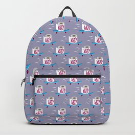 Let's Roll! Grey Backpack