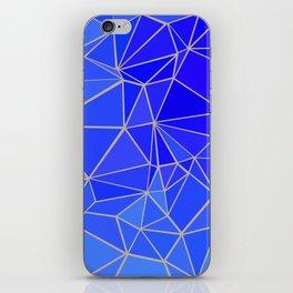 SUMMER SAND & BLUE FLUID iPhone Skin