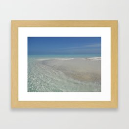 Maldives Framed Art Print