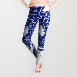 Blue Double Leggings