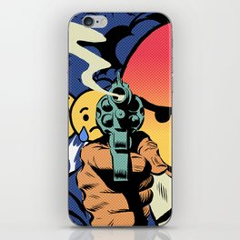 Social Angry iPhone Skin